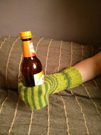 Beer Mitten Green finished