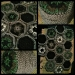 Mosaikbilder Häkeldecke